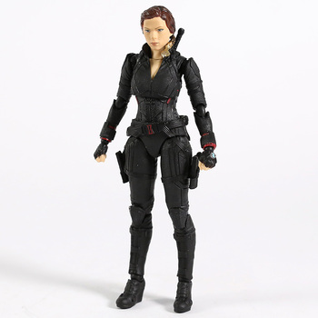 SHF Avengers 4 Endgame Black Widow PVC Action Figure Collectible Model Toy 2