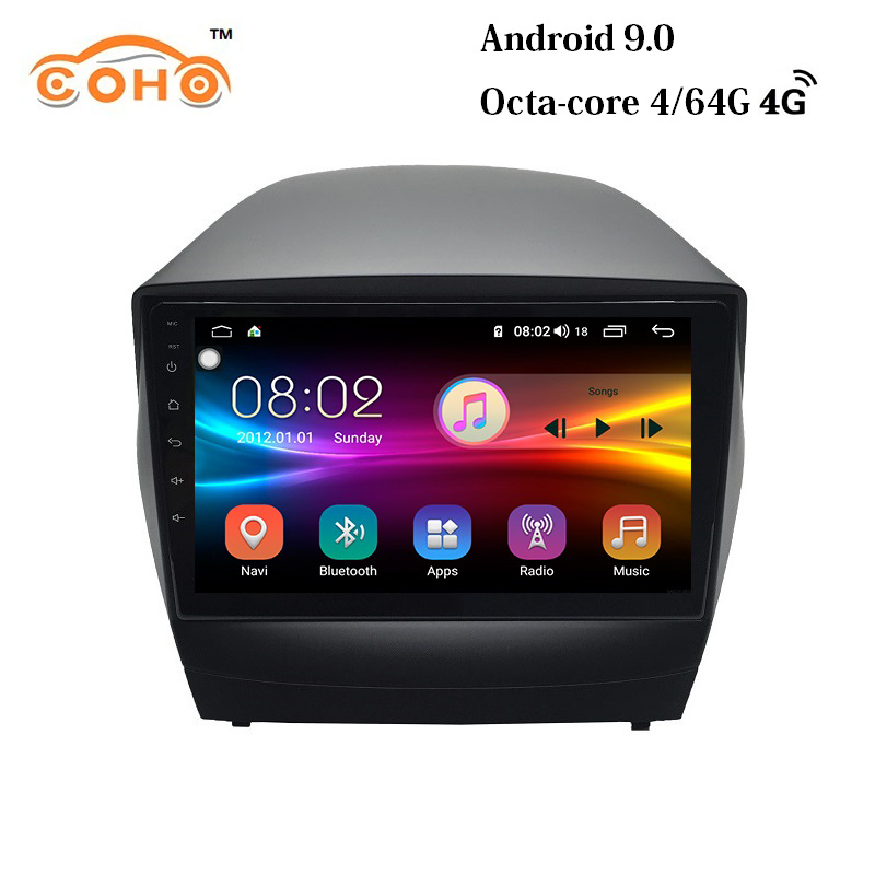 IX35/Tucson Android 9.0 8-core 4/64G navigation gps para auto car radio android <font><b>carro</b></font> for HYUNDAI IX35 image
