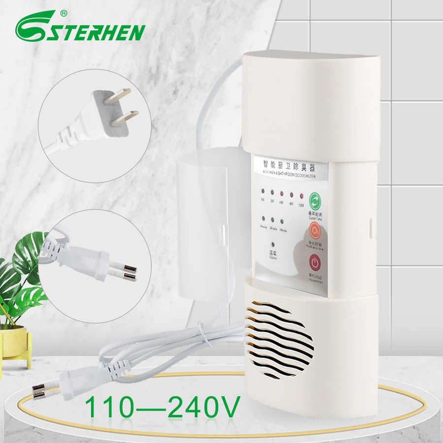 STERHEN nowy produkt dezodorujący 110V 220V Generator ozonu automatyczny oczyszczacz powietrza dla mała przestrzeń aplikacji