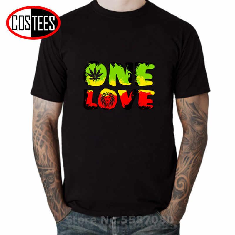 Komik Bob Marley bir aşk jamaika Rasta Reggae Hip Hop Rap müzik serin erkek çocuklar hediye T Shirt t T t T gömlek kişiselleştirilmiş Tee gömlek
