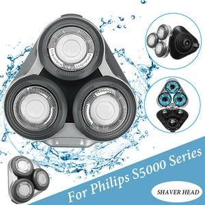 Image 1 - เปลี่ยนหัวโกนสำหรับ Philips Series S5000 S5070 S5100 S5400 S5420 S5570