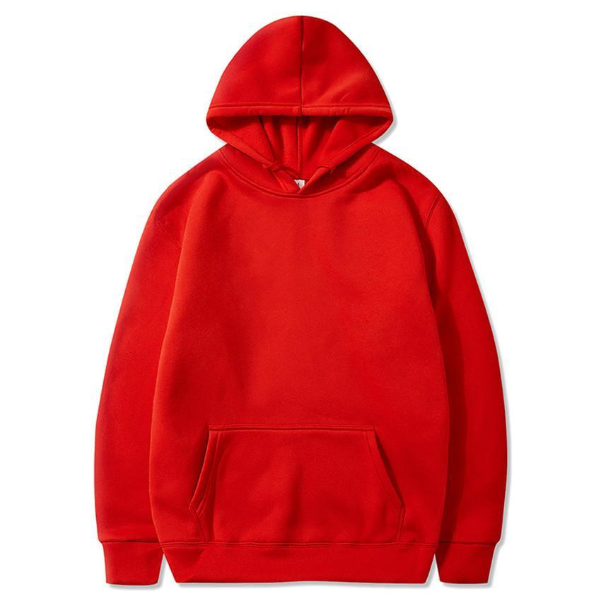 Fall 2019 Casual Hoodie For Men And Women Hip Hop Pullover Solid Color Hoodies  S-XXXL
