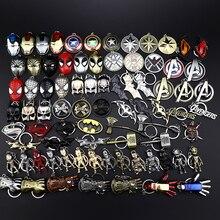 Украшения Marvel Супергерои Мстители 4 Логотип Стиль металлические подвески, брелоки с буквой «А брелки porte clef держатель ключа chaveiro