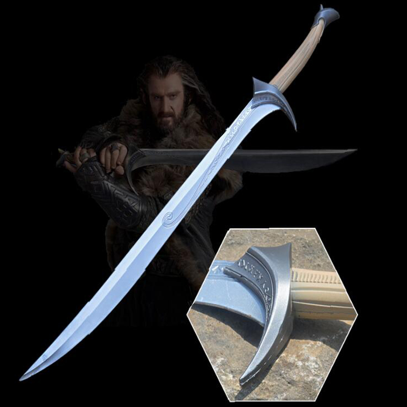 The Two Towers 1: 1 COS  Legolas Prince Of Elves Sword The Hobbit Thorin Orcrist Props Sword Cosplay