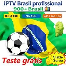 iptv brasil 3months subscription iptv brazil h 265 epg for android tv box brasil iptv free test no app included 3 Months brazil IPTV Brasil subscription for Android tv box Stable IPTV Free Test IPTV Brazil EPG 900+ No App included