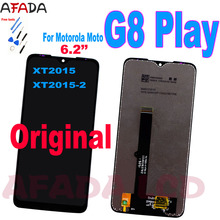 Original For Motorola Moto G8 Play XT2015 XT2015-2 LCD Display Touch Screen Digitizer Glass Panel Assembly Motorola G8Play Lcd for motorola moto g5 lcd display touch screen xt1672 xt1676 lcd screen glass digitizer complete assembly