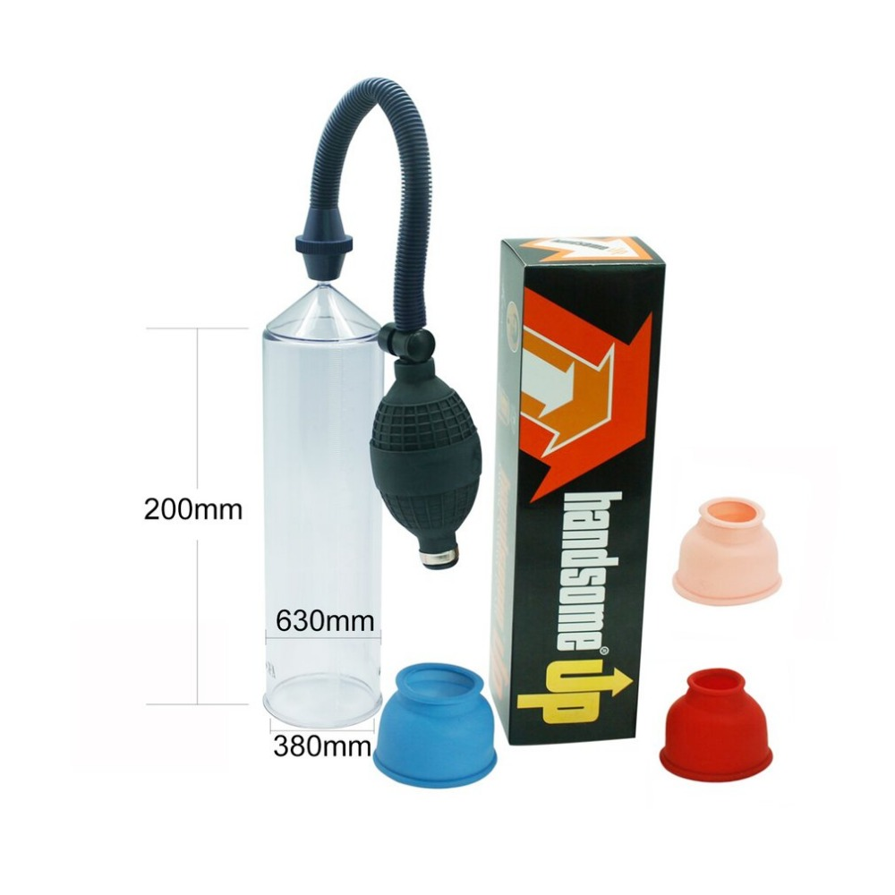 Comfortable Men Male Enlargement Pumps Vacuum Pump Extender Enlarger Pumps Body Massage Massager Health Care Tool