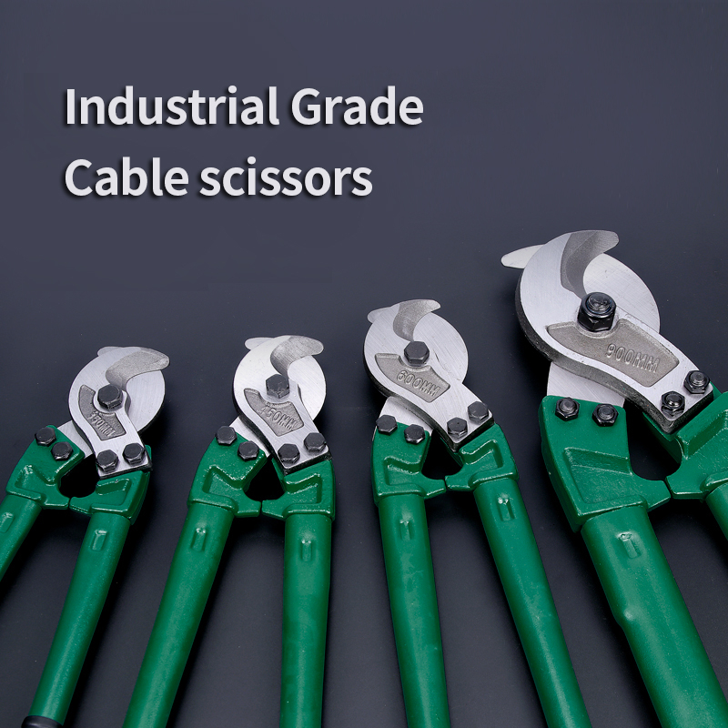 Wire Scissors Tools 24 Hardness Inches CR Forged Heavy 14 Duty 18 Cutters Steel Electrician Stripper Cable V High Wire Manual
