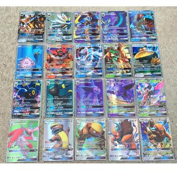 Pokemon Cards 200 Pcs 20 70pcs GX MEGA Shining TAKARA TOMY Cards Game Battle Carte 100pcs Trading Cards Game Children Toy 2