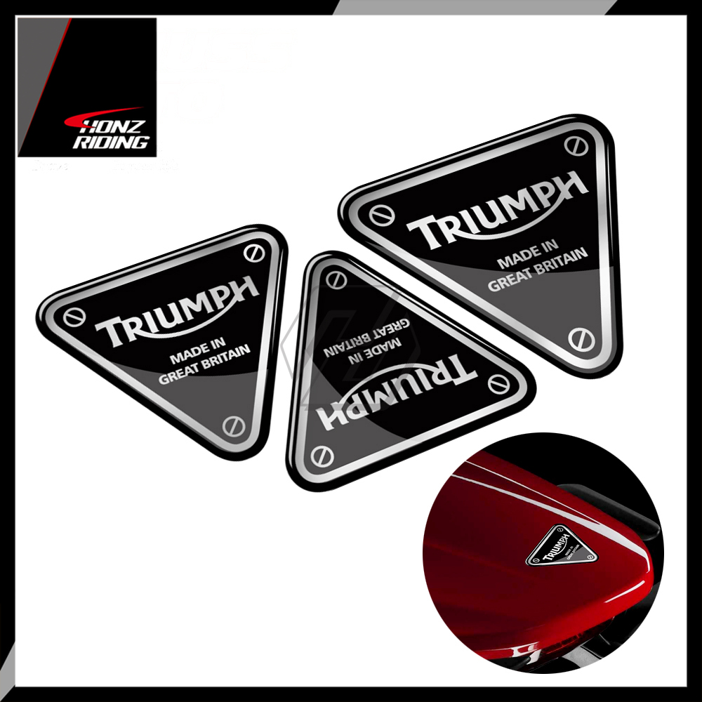 For Triumph Decals Motorcycle Decal Screw Patch Sticker 675 675R