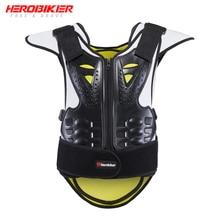 HEROBIKER Men Women Motorcycle Body Armor Vest Motocross Waistcoat Protector Unisex Moto Protective Gear