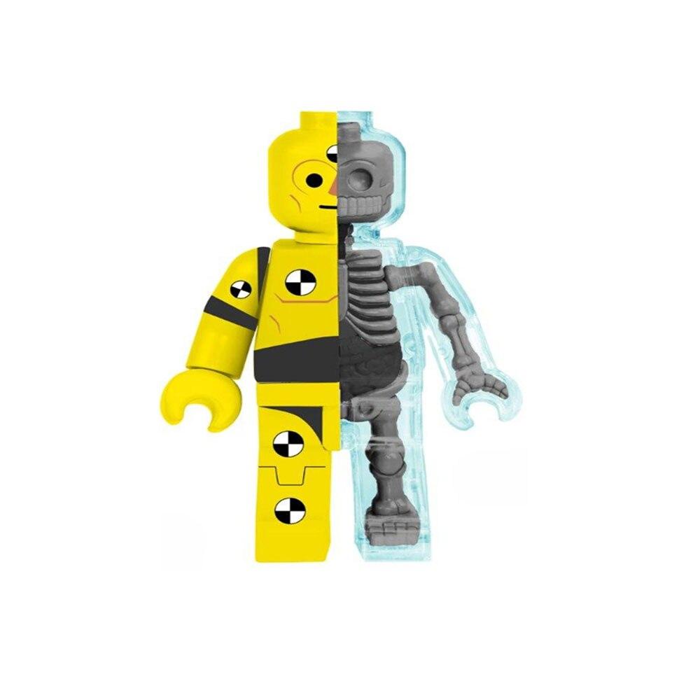 4D MASTER Authentic Artist Mighty Jaxx Brick Man Test Expert