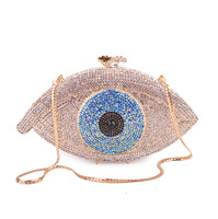 Personality Deluxe Fashion Diamond Dinner Bag Filled with Diamond Girl Bag and Bride Bag