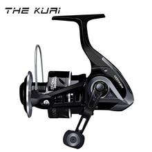THEKUAI NEW 18KG Max Drag Spinning Fishing Reel 2000-6000 Series 13+1BB 4.9:1 For Fish rod Freshwater Salewater