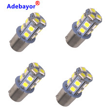 100X 12V 1156 BA15S P21W 13 SMD 5050 13 LED 13smd Frein Queue Ampoule Lampe Auto ampoule led de voiture Lumière Adebayor