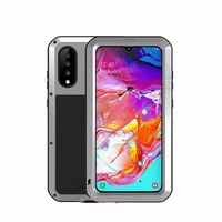 LOVE MEI Shock Dirt Proof Water Resistant Aluminum Metal Armor Cover Phone Case Cover For Samsung Galaxy A70 Coque KS0312