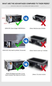Image 5 - Machine à brume pour liquide 5l 1200W, DMX 512, pour réservoir Bar, discothèque, DJ
