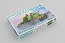 цена на Trumpeter 09503 1/35 Russian KV-7 Mod.1941 AAA Tank Military Display Toy Plastic Assembly Building Model Kit
