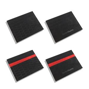 Image 2 - Alcantara Bank Credit etui na dowód osobisty pakiet kart moneta kiesa portfel męski smukły futerał do mercedesa W204 BMW E46 E90 Audi Mustang