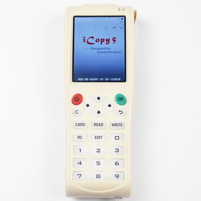 Vente directe! Copieur de carte intelligente Icopy5, Version anglaise, duplicateur de carte, lecteur/ID, RFID NFC