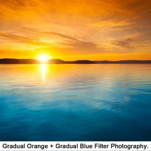 Image 5 - 46mm Rot Orange Gelb Lila Blau Grün Farbe Graduated Filter Kit für Nikon Z50 Kamera mit NIKKOR Z DX 16 50mm VR objektiv