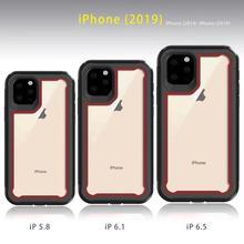 For LG Q60/K50 STYL05 K51 STYLO 6 Dual Layer Hybrid Shockproof Hard Back Cover Cell Phones For LG K40 Case недорого