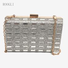 2020NEWclutch bags crystal Shiny women's evening bag diamond