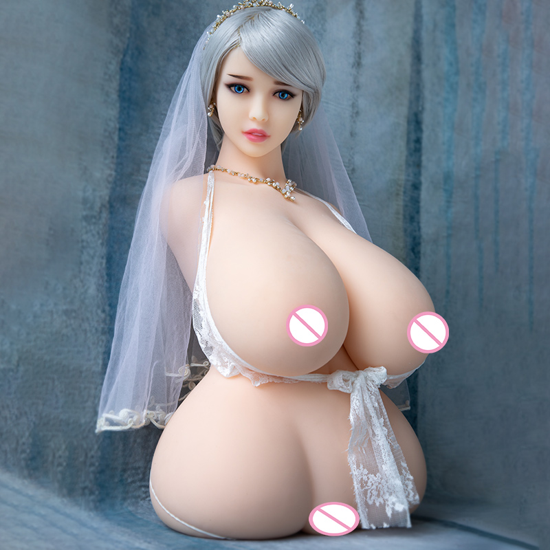 Image 4 - Hanidoll Silicone Sex Dolls 86cm Half Body Love Doll TPE Male Sex Doll Torso Realistic Vagina Big Boobs Fat Ass Chubby Sexy Doll-in Sex Dolls from Beauty & Health
