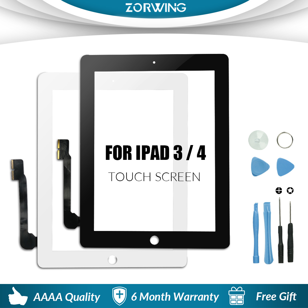 Сенсорный экран для iPad 3 4 iPad3 iPad4 A1416 A1430 A1403 A1458 A1459 A1460-1