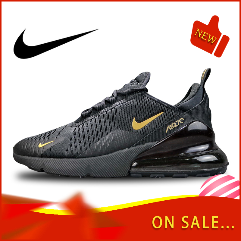 Original Authentic Nike Air Max 270 Men's Running Shoes Outdoor Colorful Sneakers Lightweight Breathable Shoes AH8050-007