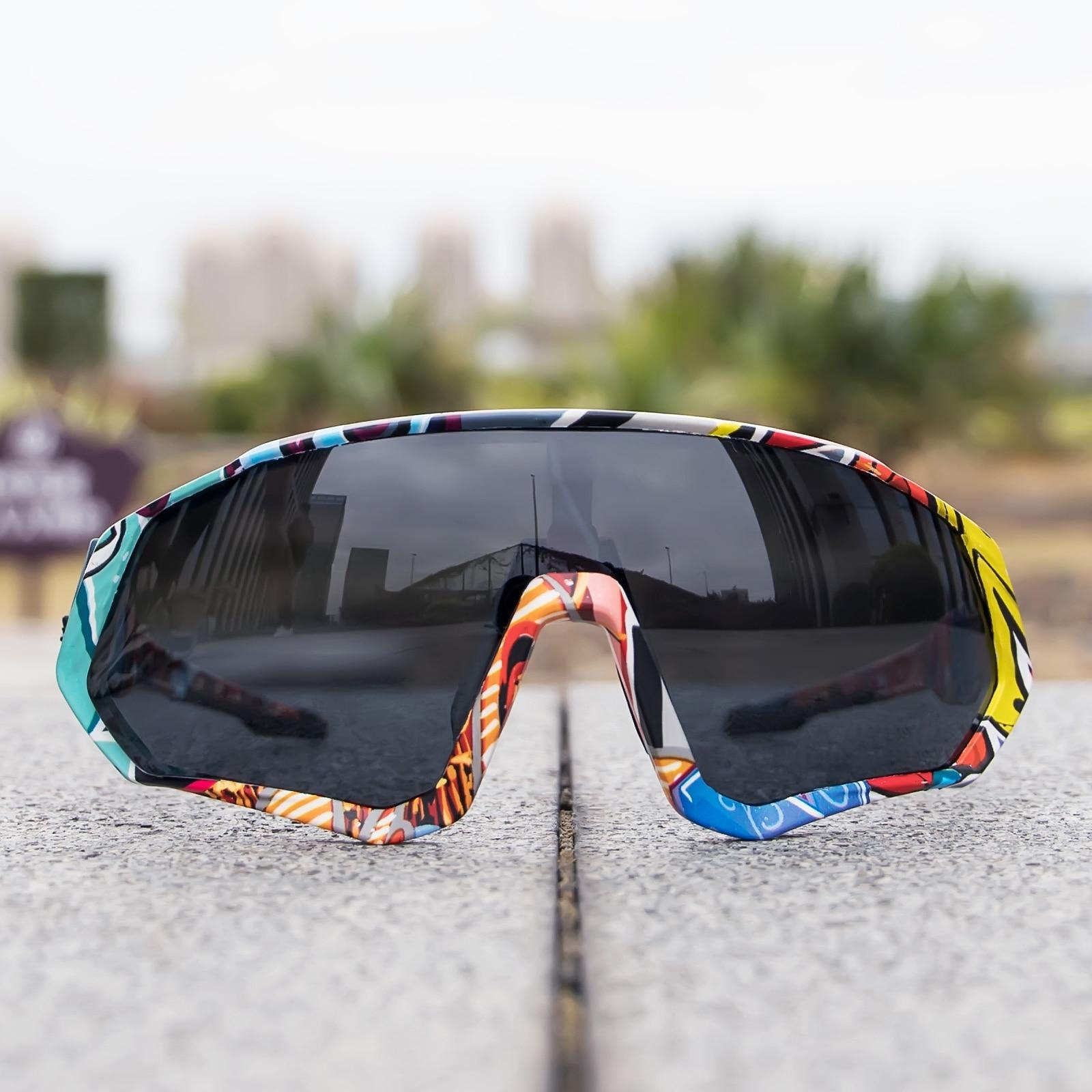 Kapvoe occhiali da ciclismo fotocromatici uomo donna Sport strada Mtb Mountain Bike occhiali da bicicletta occhiali da ciclismo occhiali occhiali 2