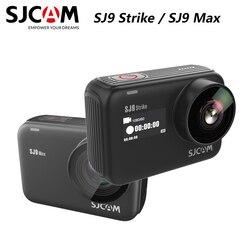 Oryginalny SJCAM SJ9 serii SJ9 strajk SJ9 Max GYRO ciała wodoodporna 4K kamera akcji przekaz na żywo 2.4G sporty wifi DV