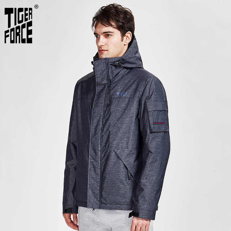 TIGER KRAFT 2020 neue arriva frühling herbst sport jacke mit kapuze casual männer jacken und mäntel mit zipper warme kleidung 50612