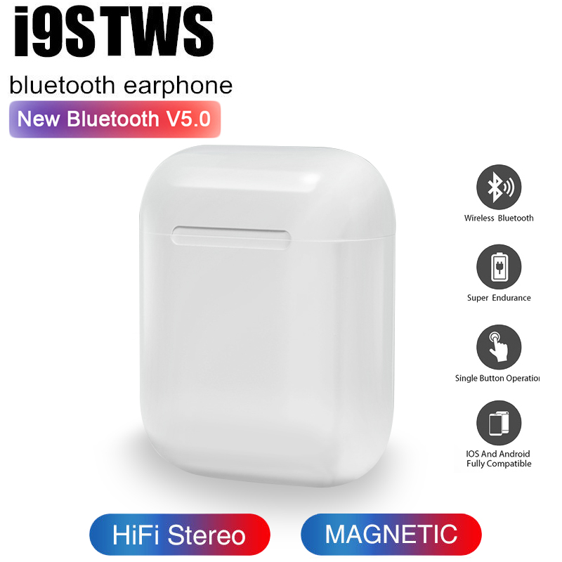 I9 TWS Mini I9s TWS Bluetooth Headsets Earbuds Wireless Earphone Headphones Earpiece For Original Iphone Ear Pk I7 TWS