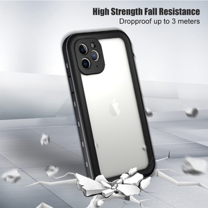 Image 3 - IP68 防水ケース iphone 11 プロ最大 2019 iphone 11Pro 防水カバーダイビングアウトスポーツ 360 保護 iPhone11 Coque