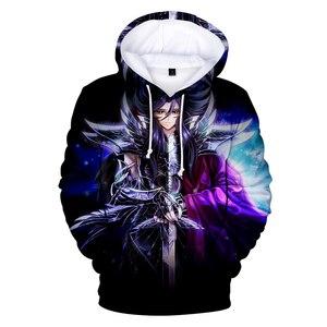 Image 1 - Neue Saint Seiya mode mit kapuze sweatshirt mädchen junge Männer frauen 3D Hoodie Saint Seiya Hoodies Casual Geeignet pullover komfortable