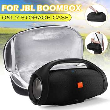 For JBL BOOMBOX Wireless bluetooth Speaker Bag Portable Outdoor Speaker Hard EVA Case Carry Case Bag Protective Box (Black) NEW