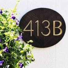 12 см золотой плавающий дом с цифрами #0 9 5 дюймов Алфавитные