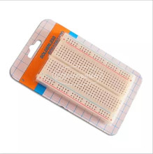 400 Tie Points Solderless PCB Breadboard Mini Universal Test Protoboard DIY Bread Board Bus Test Circuit Board