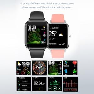 Image 5 - Smart Degli Uomini Della Vigilanza del Bluetooth Intelligente activity tracker vigilanza di sport IP67 Impermeabile Chiamata di Promemoria Monitoraggio del Sonno Previsioni Meteo