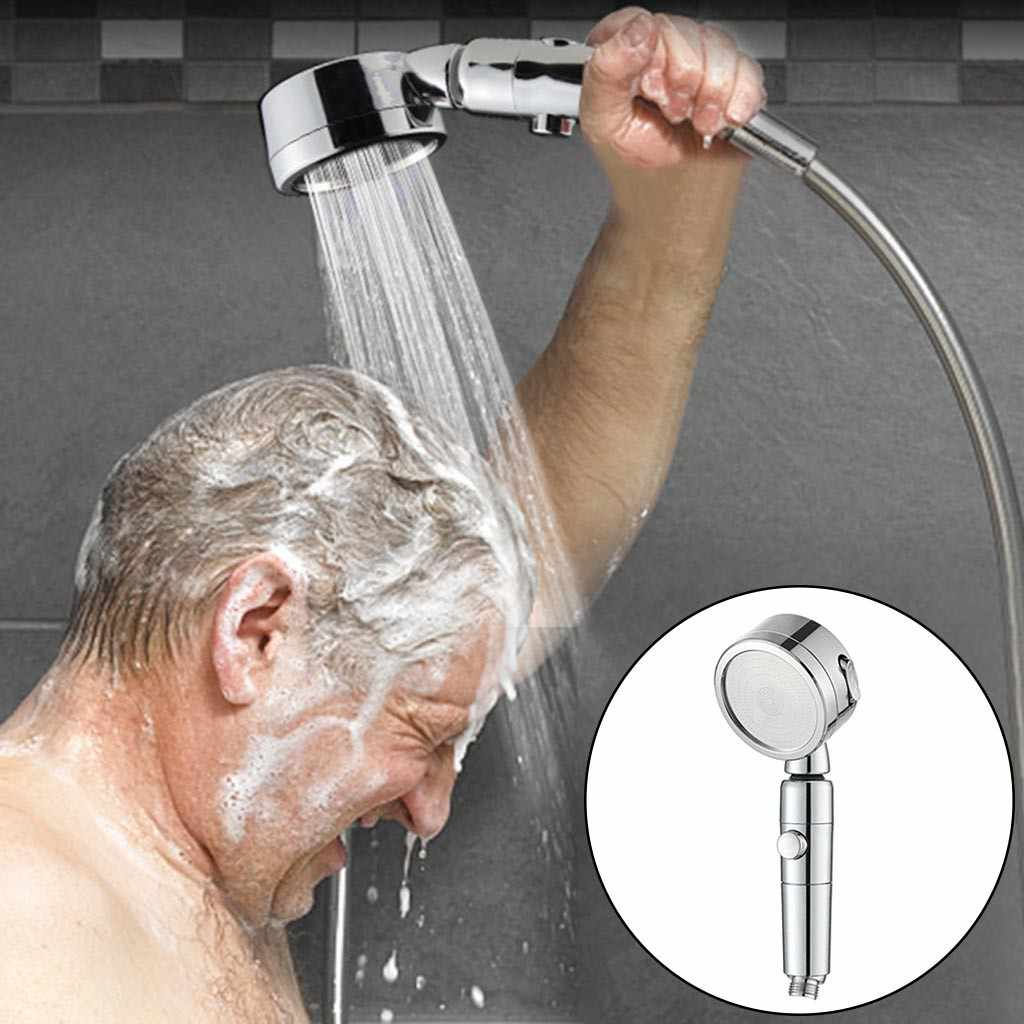 High-Pressure Water-Saving Shower Head Ionic Handheld Filtration Hand Showerhead