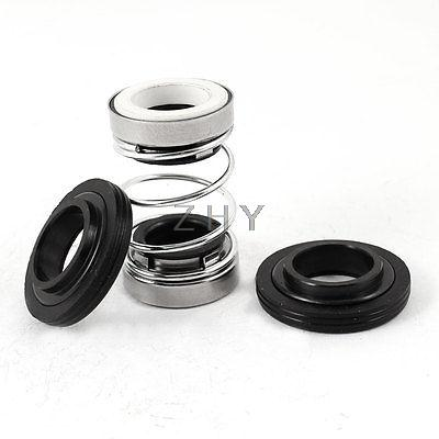 Uxcell 18mm Inside Dia Water Pumps Tubs Coil Spring Mechanical Shaft Seal