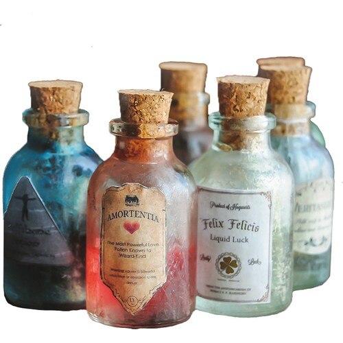 Набор из 6 предметов-школьная пленка в Хогвартсе, магический волшебный брелок, коллекционный полный набор вееров ручной работы