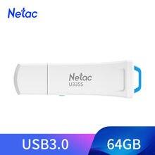 A gravação física da movimentação flash de netac usb protege a movimentação da pena do disco da vara da memória de usb 3.0 do pendrive 64gb do switcher na memória chave para o telefone