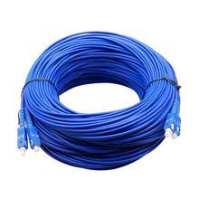 Sc/upc ao cabo de remendo ótico blindado do único modo do duplex do cabo de remendo da fibra do sc/upc