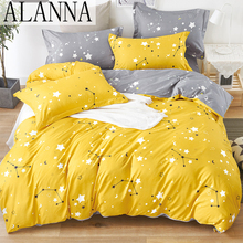 Solid-Bedding-Sets Alanna-X-Series Flower 5-6-Printed Lovely-Pattern High-Quality Home