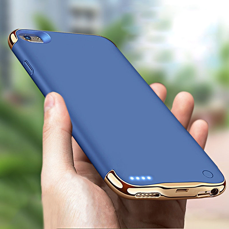 3500/4000mAh Battery Charger Case For IPhone 6 6s 7 8 Power Bank Case External Backup Charger Case For IPhone 6 6s 7 8 Plus