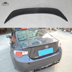 Para Toyota 86 2012-2015 TRD estilo fibra de carbono alerón trasero labio para Scion GT86 para Subaru BRZ ala trasera estilo Coche