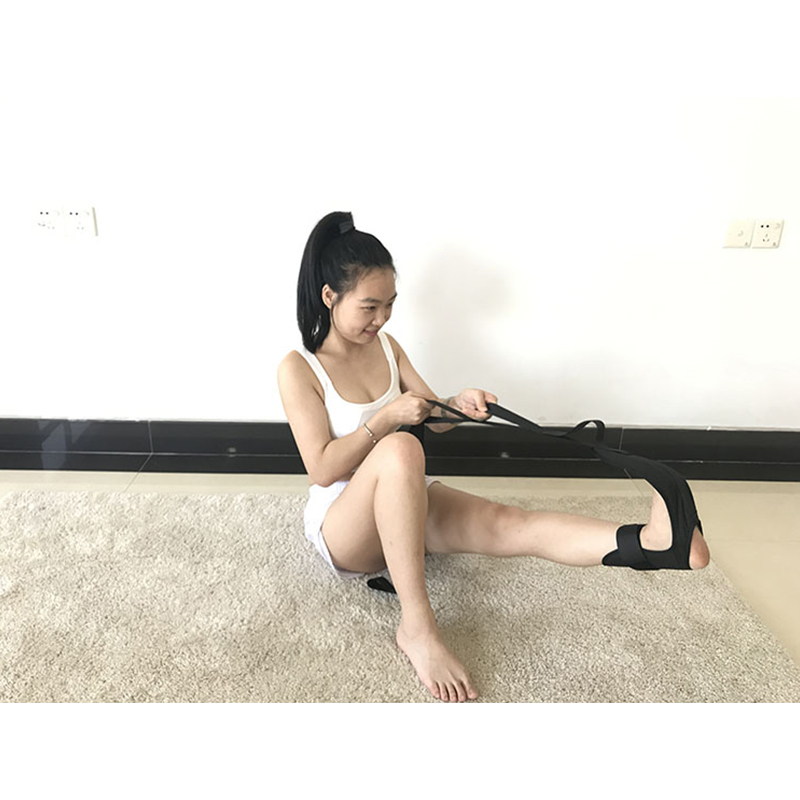 Yoga Ligament Stretching Belt Foot Drop Strap Leg Training Foot Correct Ankle US