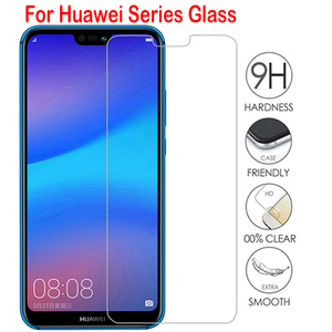 Tempered Glass For Huawei P40 P30 P20 lite P Smart 2019 Mate 20 Screen Protector Glass On honor 20 8X 10 lite 10i 8A 9X Glass(China)